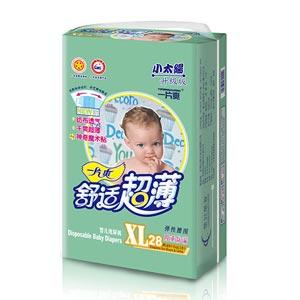 一片爽舒适超薄婴儿纸尿裤(小太阳中包)