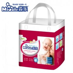 淼乐超薄柔软婴儿纸尿裤中M码24片 5-11公斤的宝宝适用