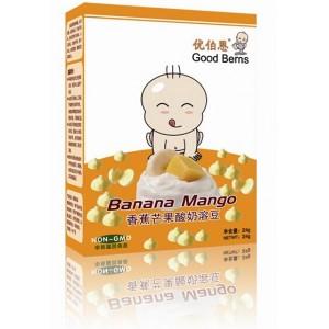优伯恩香蕉芒果果蔬酸奶溶豆