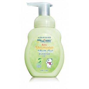 优机纯素婴儿洗发沐浴液(二合一) 280ml