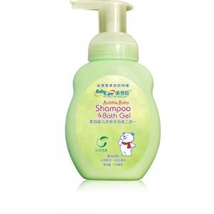 美赞臣柔泡婴儿洗发沐浴液(二合一)200ml