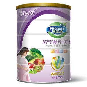 果蔬加孕妇配方羊奶粉 800g