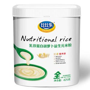 比比乐乳铁蛋白胡萝卜益生元米粉