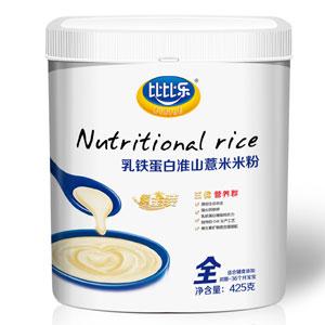 比比乐乳铁蛋白淮山薏米米粉