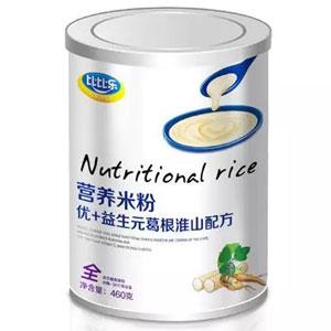 比比乐优+益生元葛根淮山营养米粉