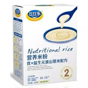 比比乐优+益生元淮山薏米营养米粉