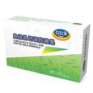 比比乐鱼油乳钙凝胶糖果盒装