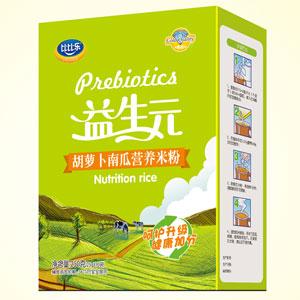 比比乐胡萝卜南瓜营养米粉盒装