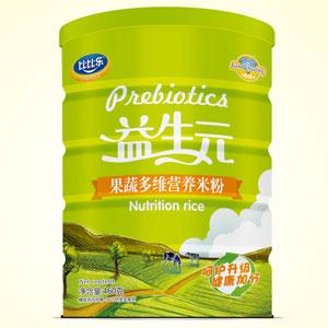 比比乐果蔬多维营养米粉听装