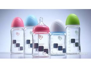 若宝一款让温度有形的奶瓶