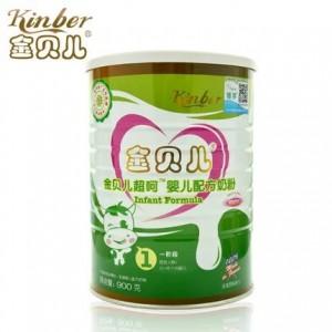 Kinber金贝儿呵护婴幼儿牛奶粉1段 900g