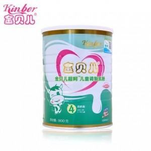 Kinber金贝儿呵护婴幼儿奶粉4段3-7岁900g