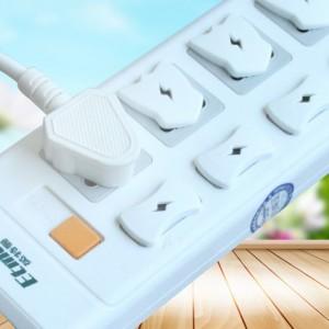 雪卡儿 儿童防触电插座保护盖宝宝电源防阻燃材质 安全绝缘
