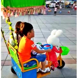 供应机器人拉黄包车 机器人蹬车 变形金刚机器人玩具车