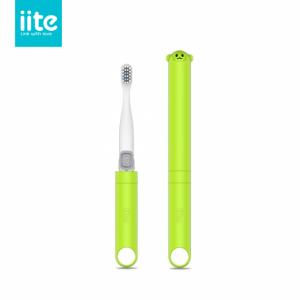 iite牙小白 K1儿童声波电动牙刷 苹果绿