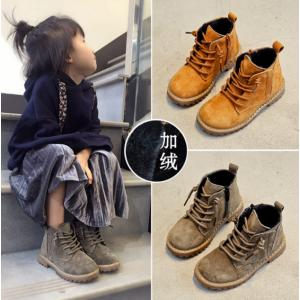 鸿胪娃品牌童鞋时尚女童靴