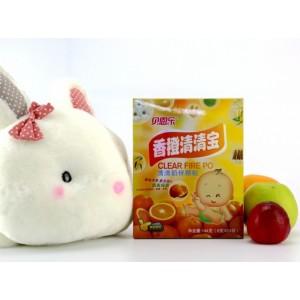 香橙清清宝6g*24袋/盒全国新品代理批发