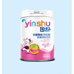因舒·能量结构3号乳糖酶配方奶粉