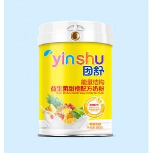 因舒 · 能量结构益生菌甜橙配方奶粉