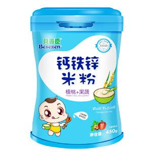 贝善臣钙铁锌米粉-核桃果蔬诚招代理