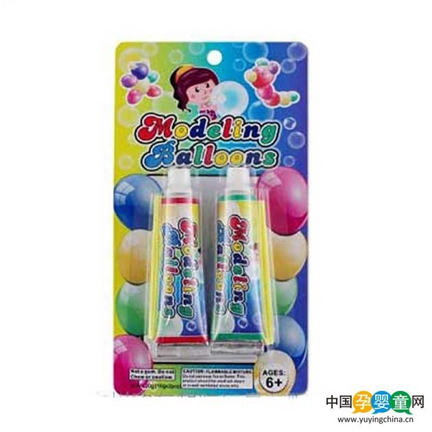 儿童礼品 彩色奇特吹波胶 童年 安全无毒泡泡胶