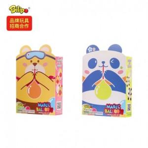 跨境电商儿童玩具外贸出口 泡泡熊吹波球 泡泡胶出口美标欧标